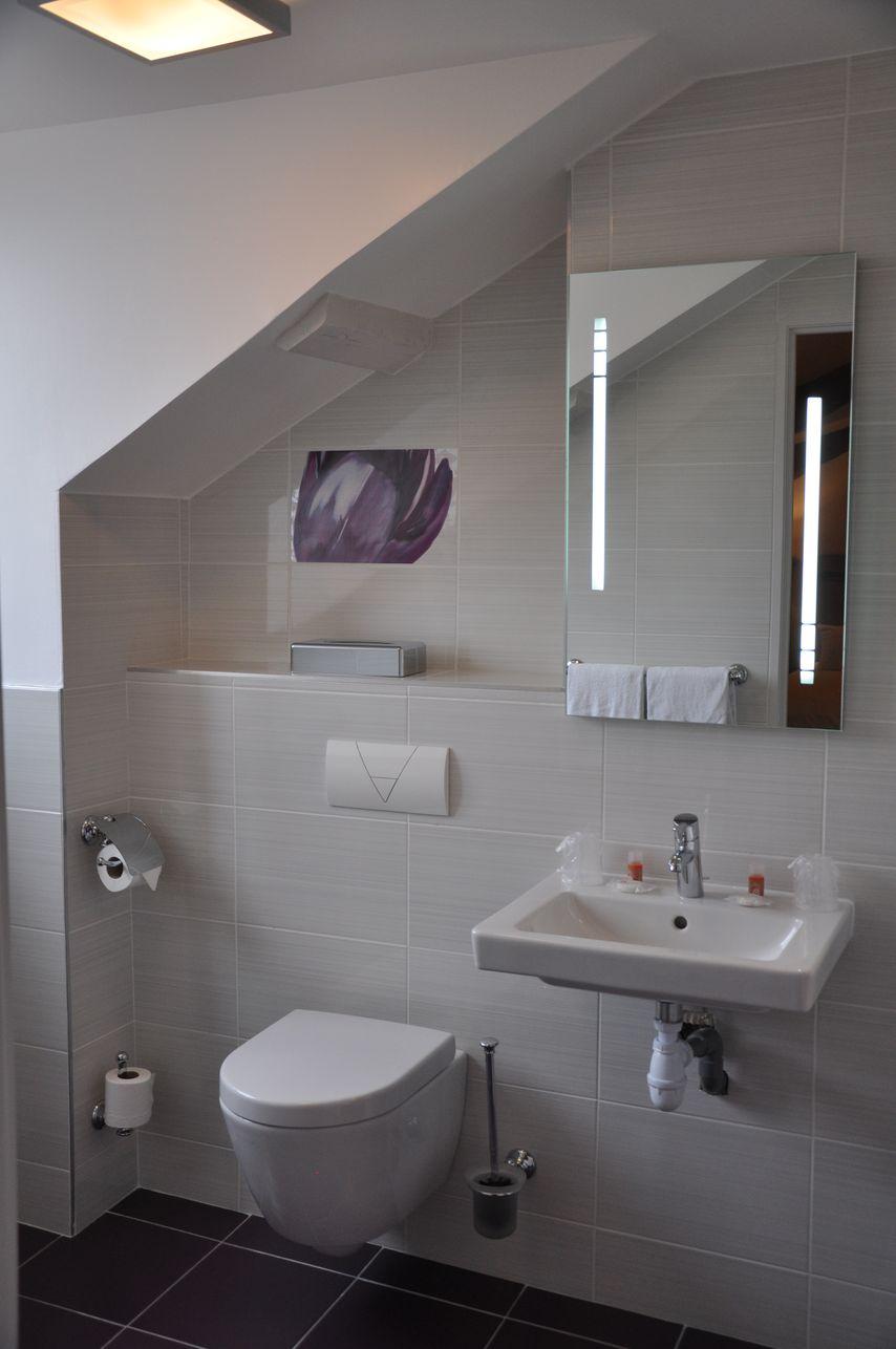 Salle de bain de l'hôtel des Poèmes de Chartres